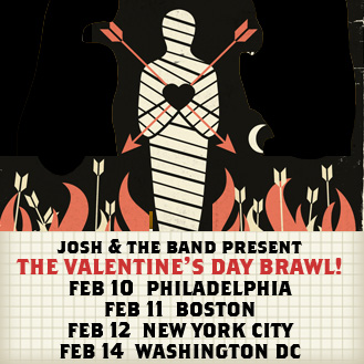 warming up for tonight meme valentines day - Setlist and Videos from Josh Ritter's Valentines Day Brawl